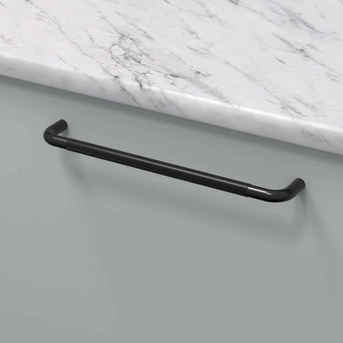 Handtag helix matt svart 309005 11 cc 224 mm ncs s 2005 g marmor carrara