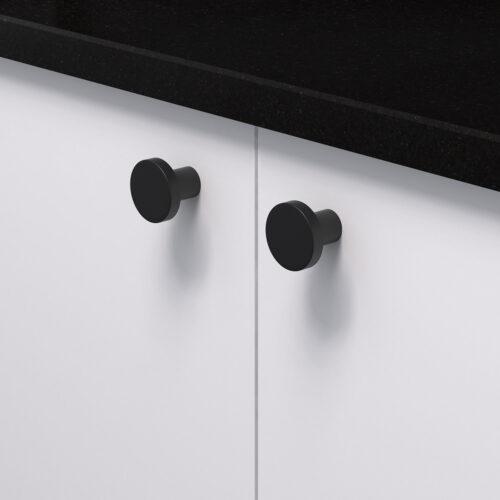 Knopp 2078 svart 368053 11 28 mm ncs s 0300 n granit svart