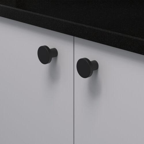 Knopp 2078 svart 368053 11 28 mm ncs s 3000 n granit svart