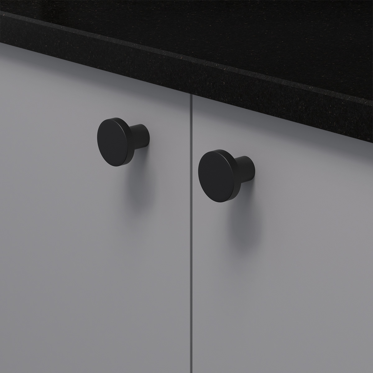 Knopp 2078 svart 368053 11 28 mm ncs s 4500 n granit svart