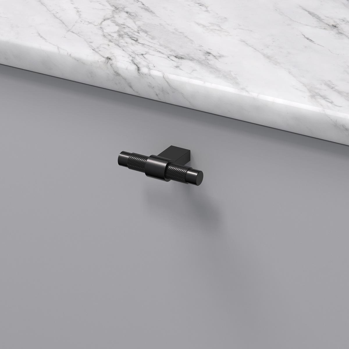 Knopp pitch matt svart 309060 11 ncs s 3000 n marmor carrara