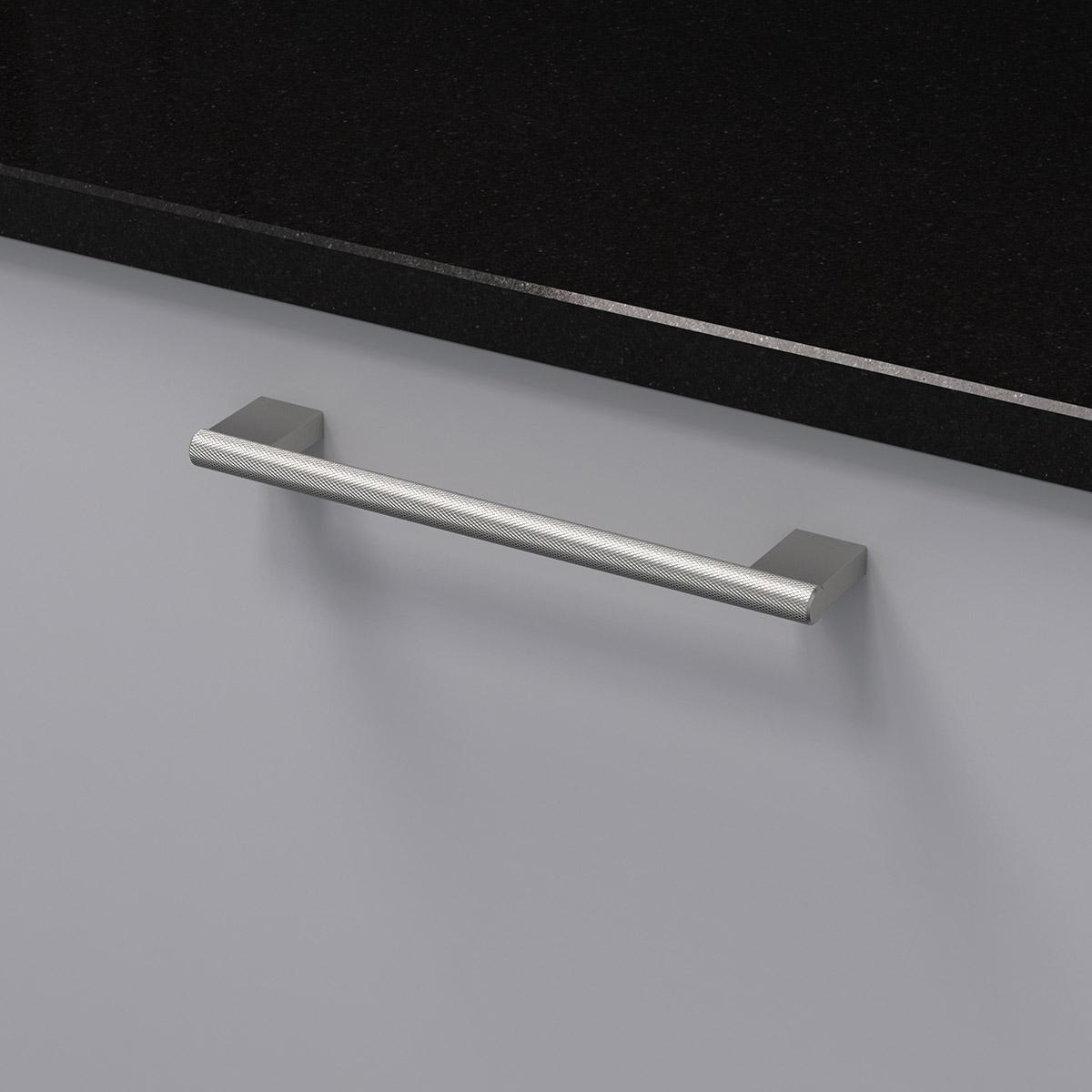 Handtag graf mini rostfri look 370232 11 cc 160 mm ncs s 3000 n granit svart