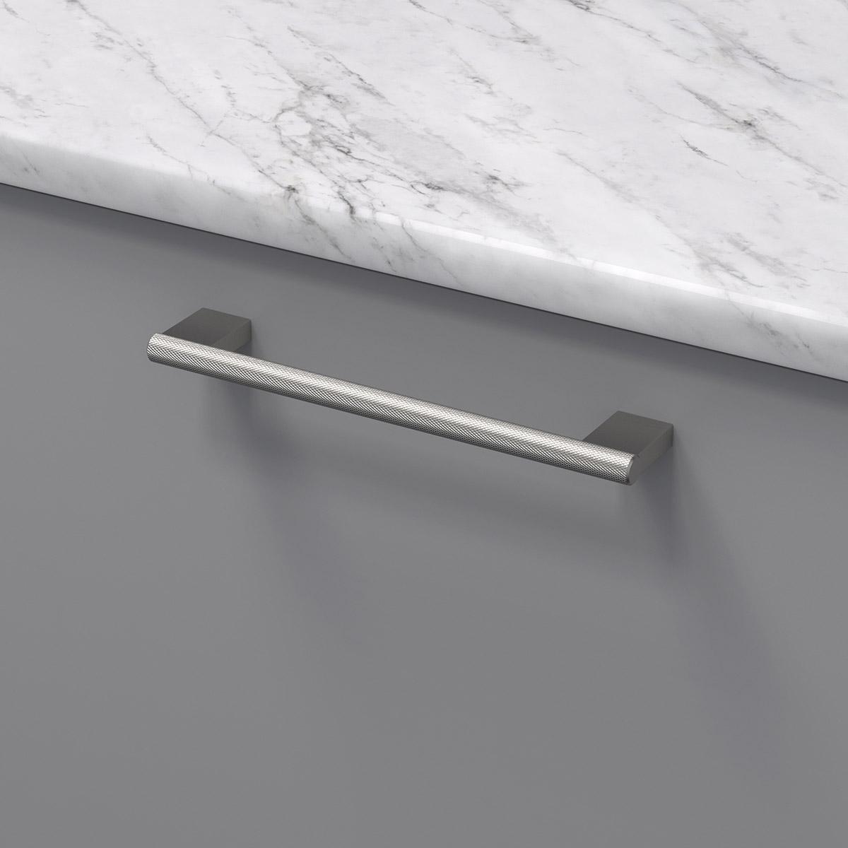Handtag graf mini rostfri look 370232 11 cc 160 mm ncs s 4500 n marmor carrara