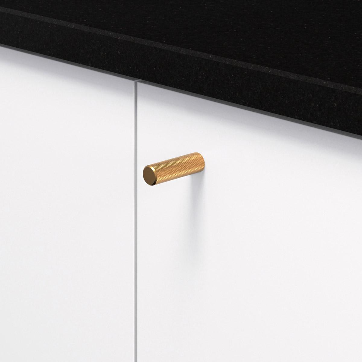 Knopp massing 370225 11 10 mm ncs s 0300 n granit svart