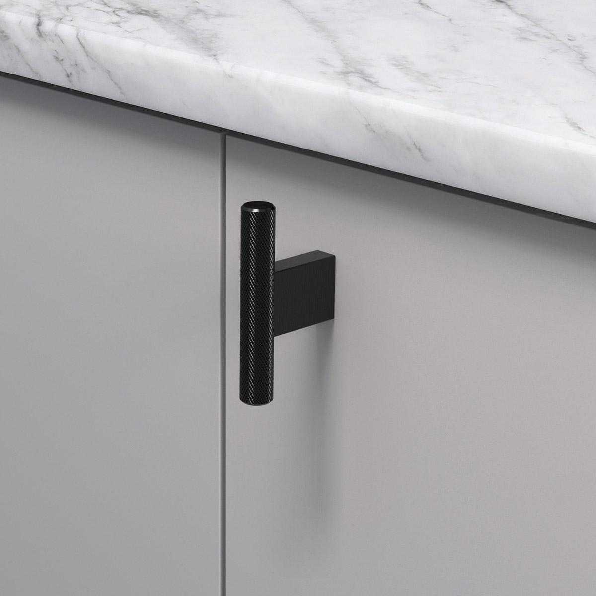 Knopp t graf mini matt svart 370251 11 10 mm ncs s 4500 n marmor carrara