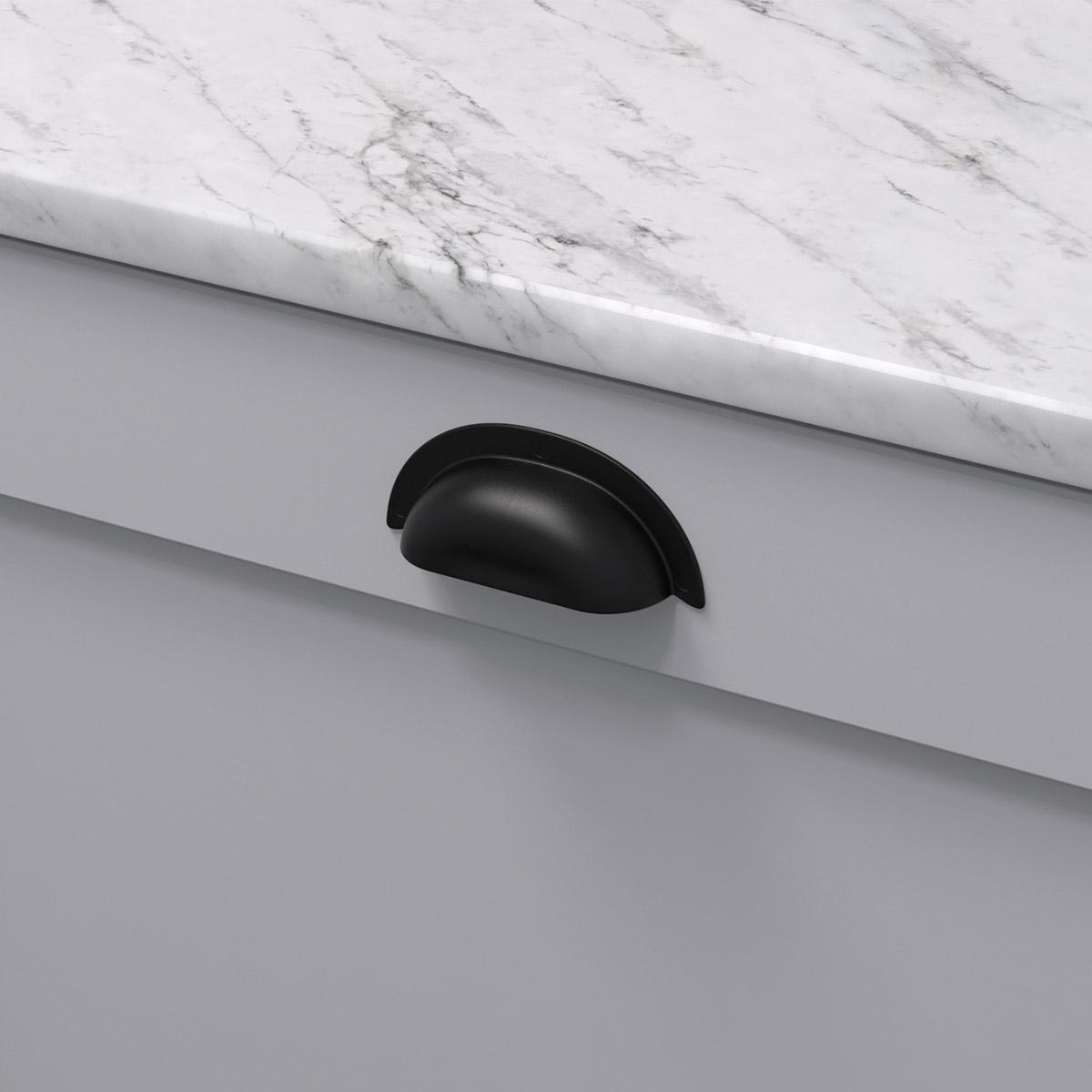 Skålhand 3922 antik svart 39224 11 ncs s 3000 n marmor carrara