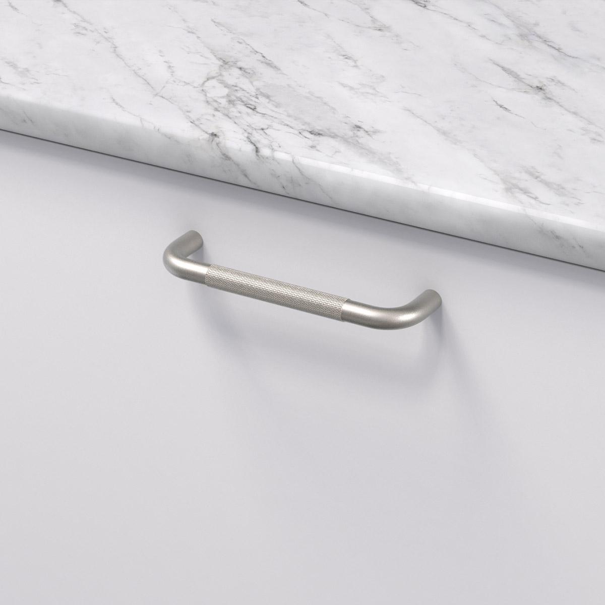 Handtag helix matt svart 309002 11 cc 128 mm ncs s 0300 n marmor carrara