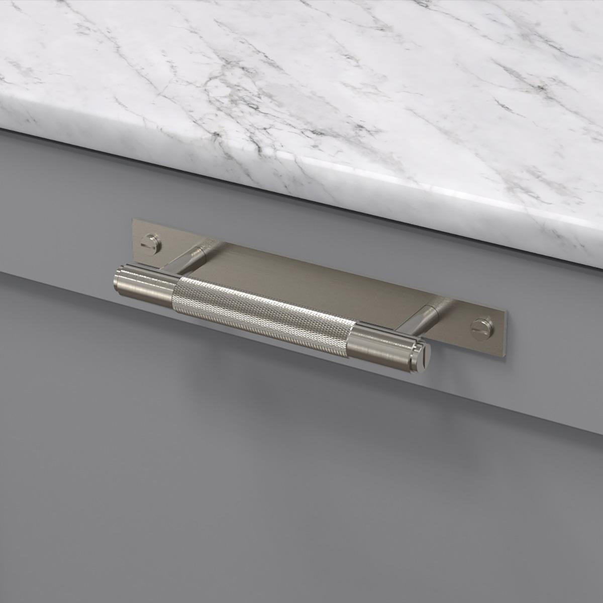 pull bar plate stål uk pb hp 160 st a cc 125 mm ncs s 4500 n marmor carrara