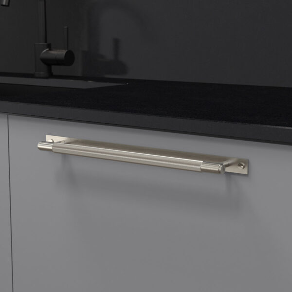 pull bar plate stål uk pb hp 360 st a cc 325 mm ncs s 4500 n granit svart