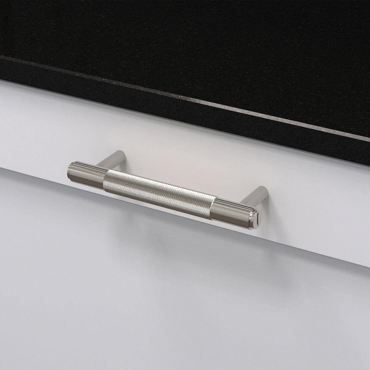 pull bar stål uk pb h 160 st a cc 125 mm ncs s 0300 n granit svart