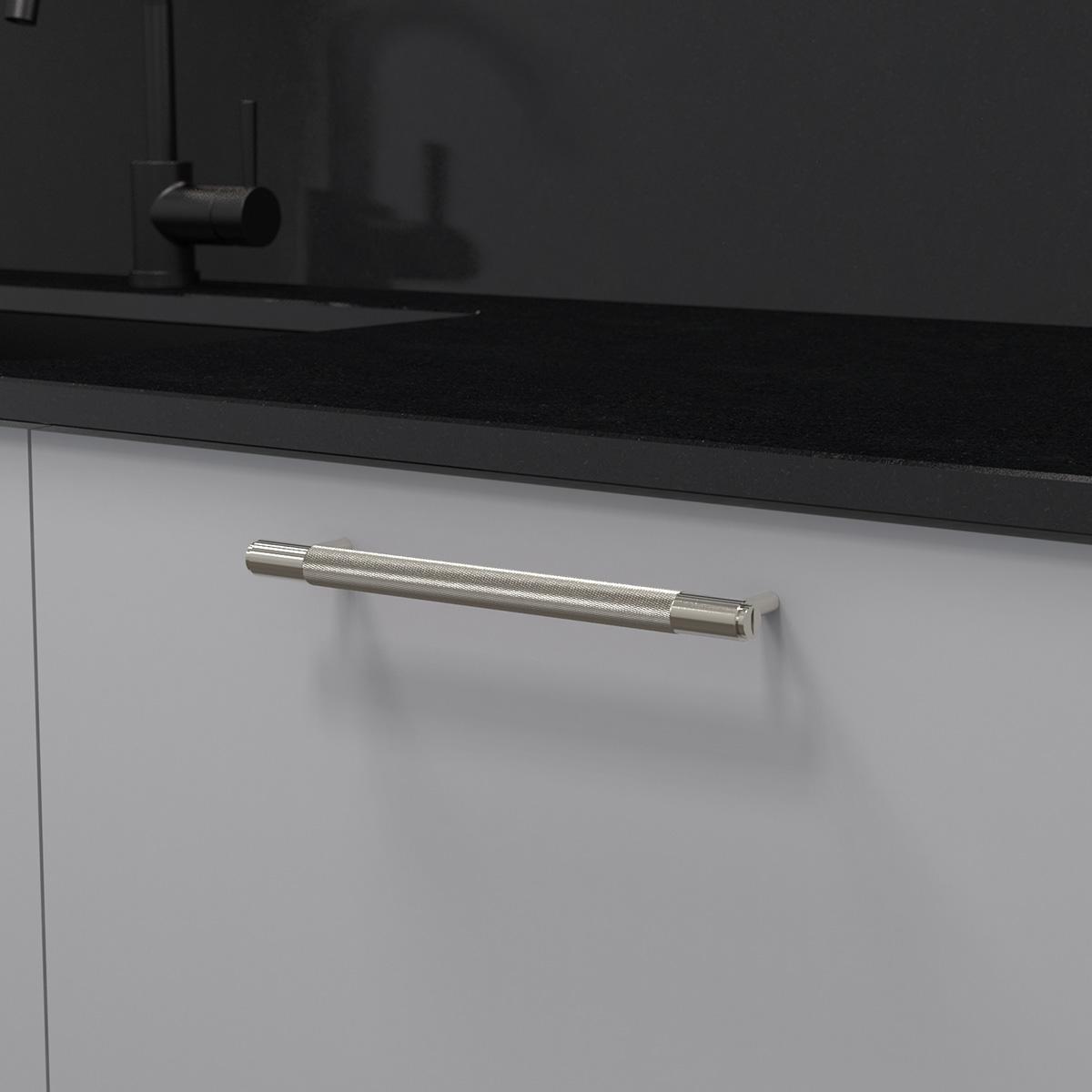 pull bar stål uk pb h 260 st a cc 225 mm ncs s 3000 n granit svart