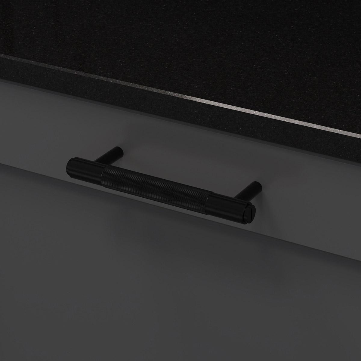 pull bar svart uk pb h 160 bl a cc 125 mm ncs s 7500 n granit svart