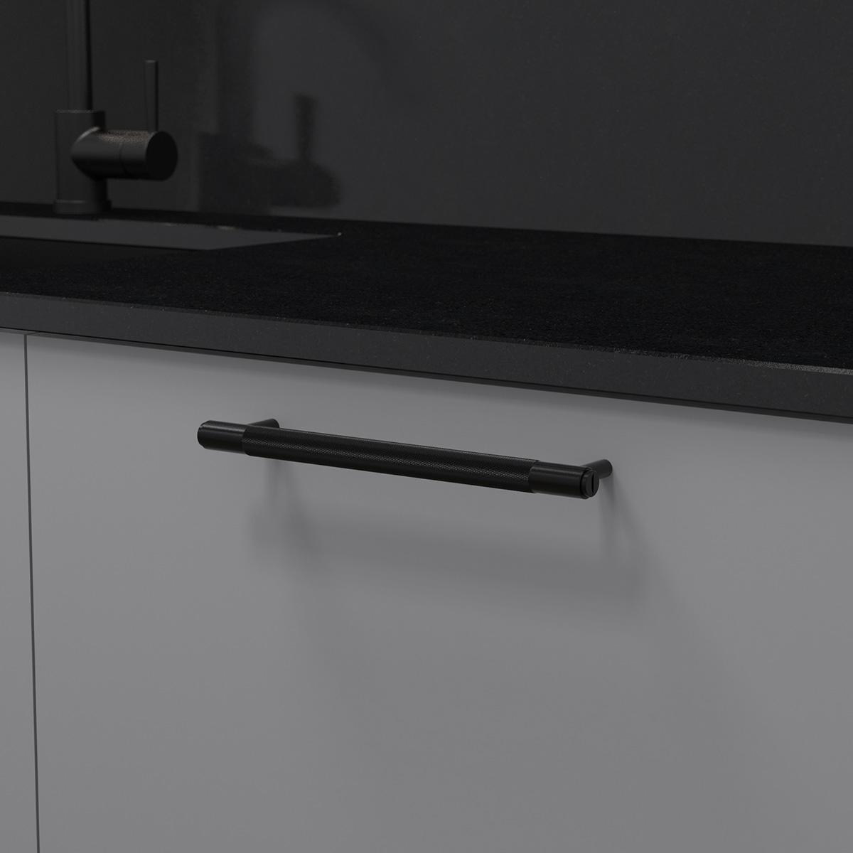pull bar svart uk pb h 260 bl a cc 225 mm ncs s 4500 n granit svart