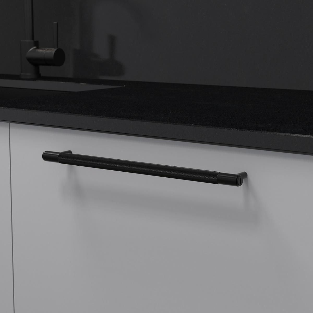 pull bar svart uk pb h 360 bl a cc 325 mm ncs s 3000 n granit svart