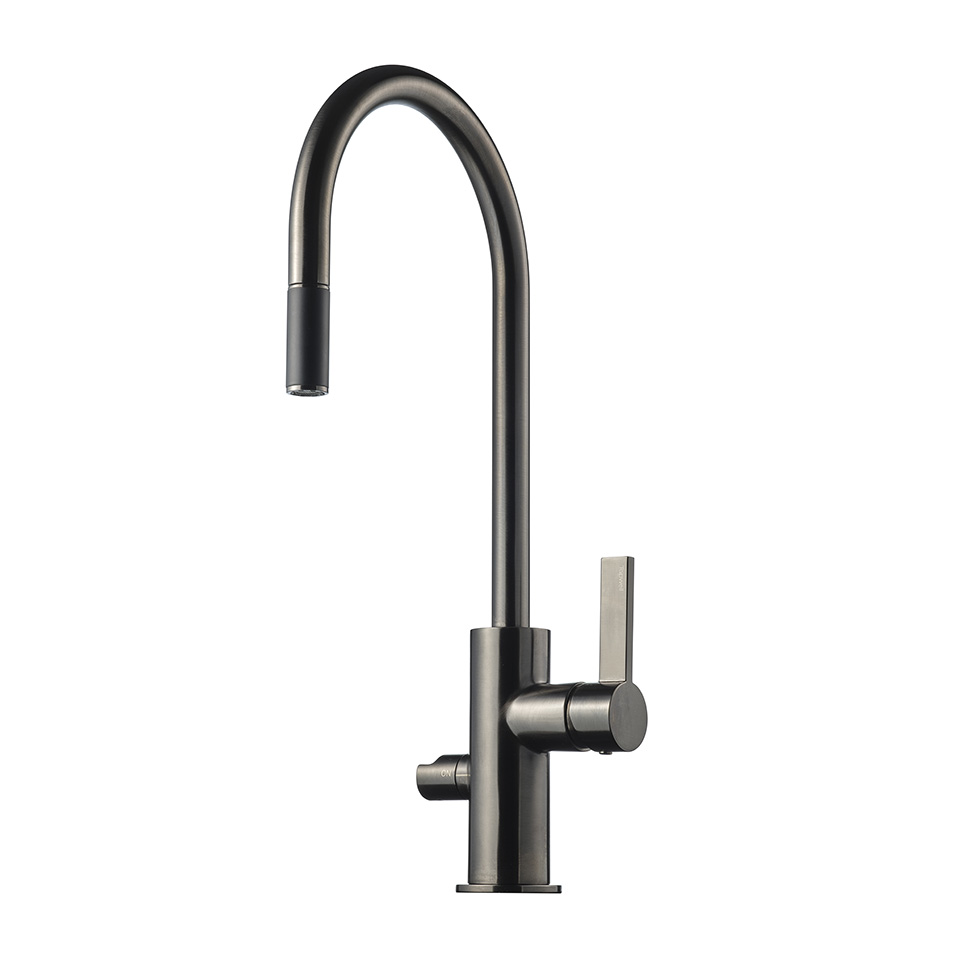 Tapwell ARM885 Brushed Black Chrome