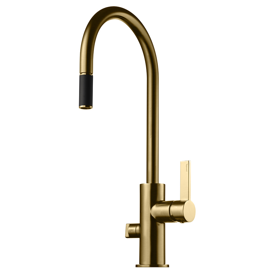 Tapwell ARM885 Brushed Honey Gold