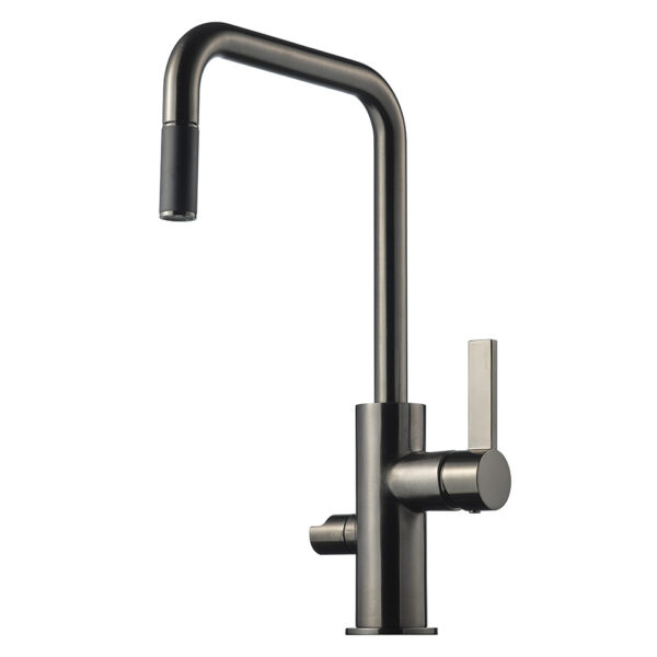 Tapwell ARM887 Brushed Black Chrome