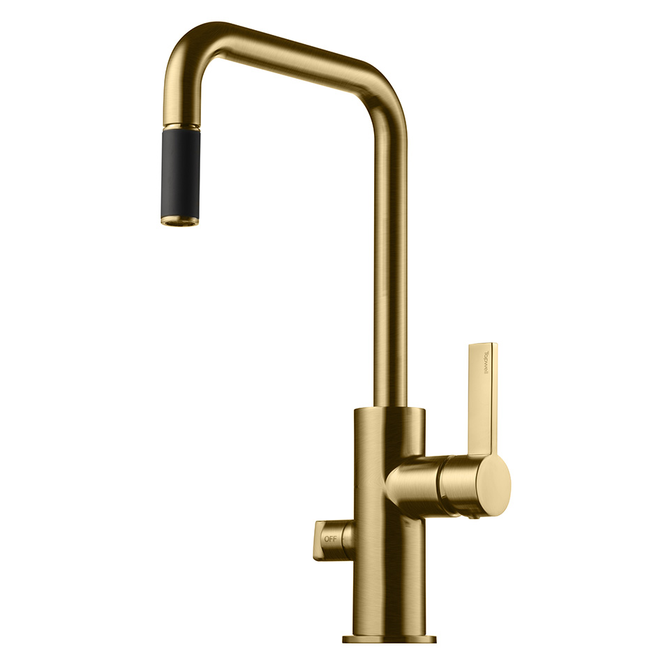 Tapwell ARM887 Brushed Honey Gold