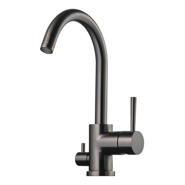 Tapwell EVO184 Brushed Black Chrome