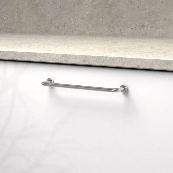 Handtag lounge rostfritt 370122 11 cc 160 mm ncs s 0300 n kalksten