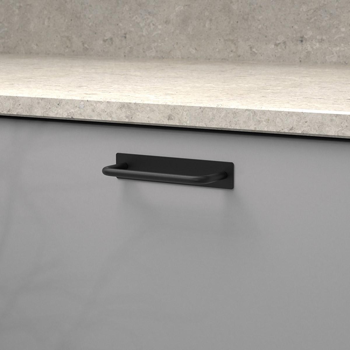 Handtag royal matt svart 336212 11 cc 96 mm ncs s 4500 n kalksten
