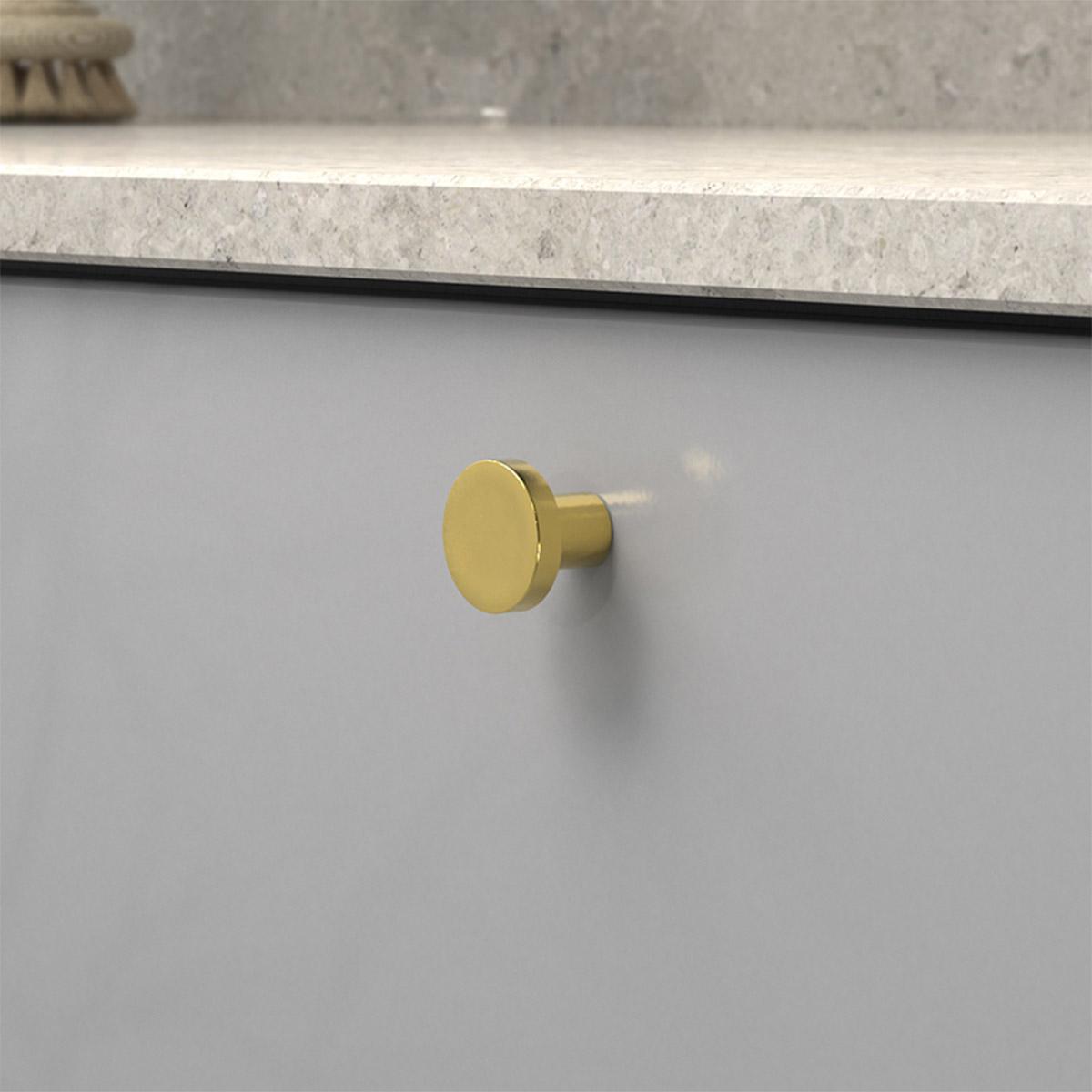 Knopp 2078 polerad massing 368055 11 28 mm ncs s 4500 n kalksten