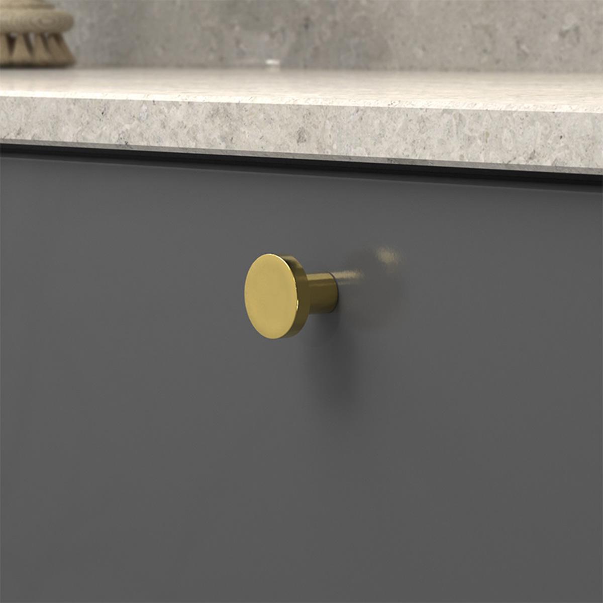 Knopp 2078 polerad massing 368055 11 28 mm ncs s 7500 n kalksten
