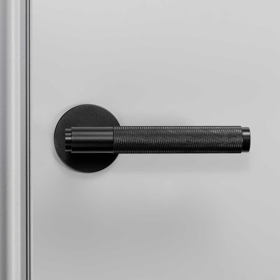 960x960 2. Door Handle Front Fixed Black