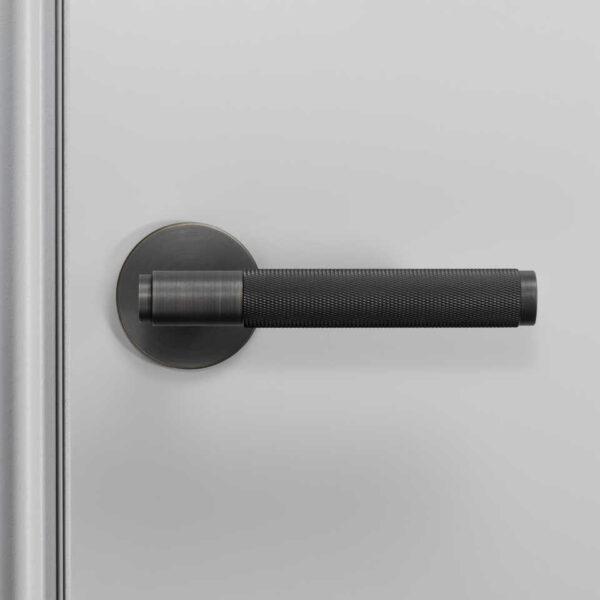 960x960 2. Door Handle Front Fixed Smoked Bronze