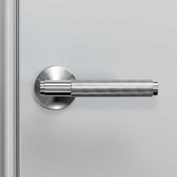 960x960 2. Door Handle Front Fixed Steel