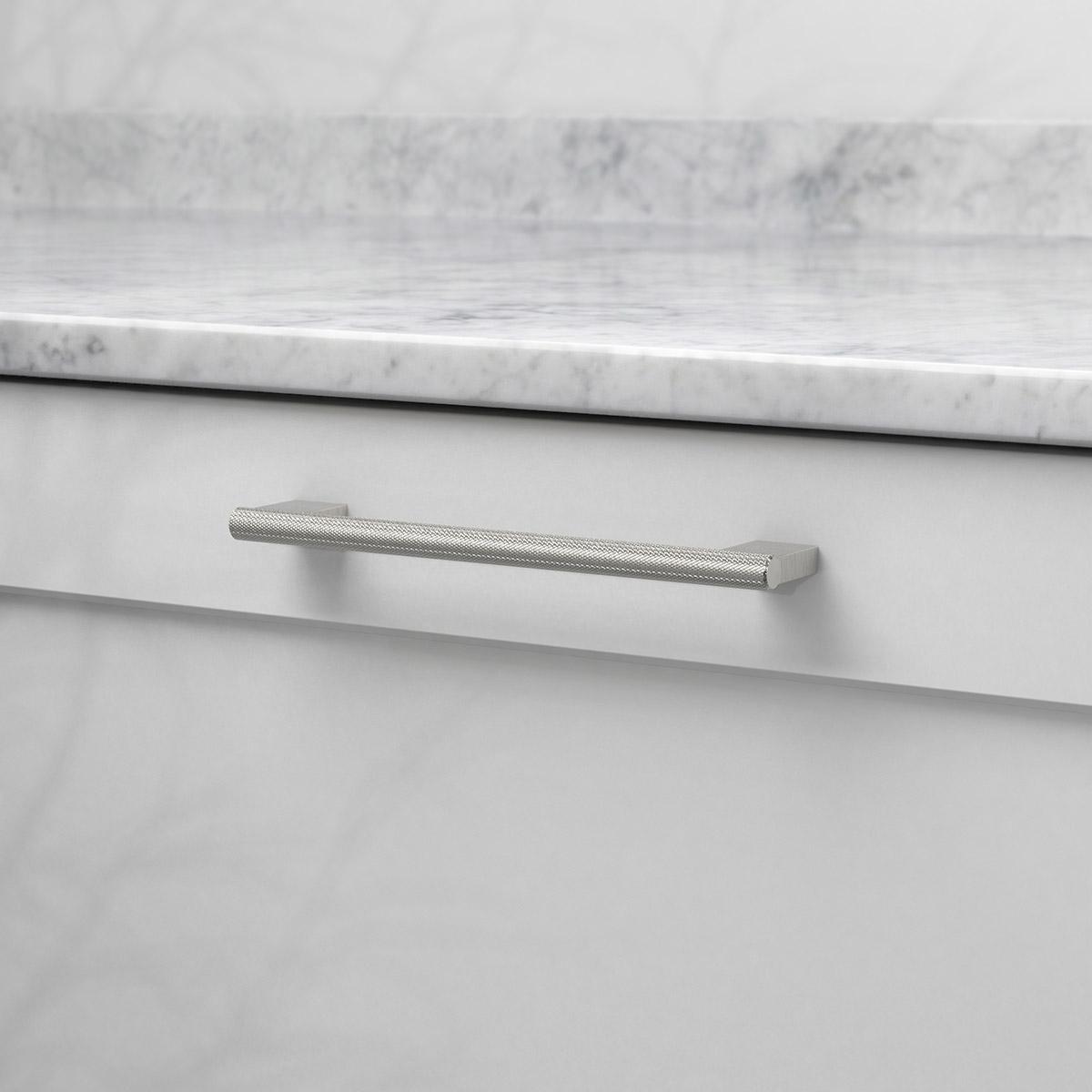 Handtag graf mini rostfri look 370232 11 cc 160 mm ncs s 3000 n marmor carrara