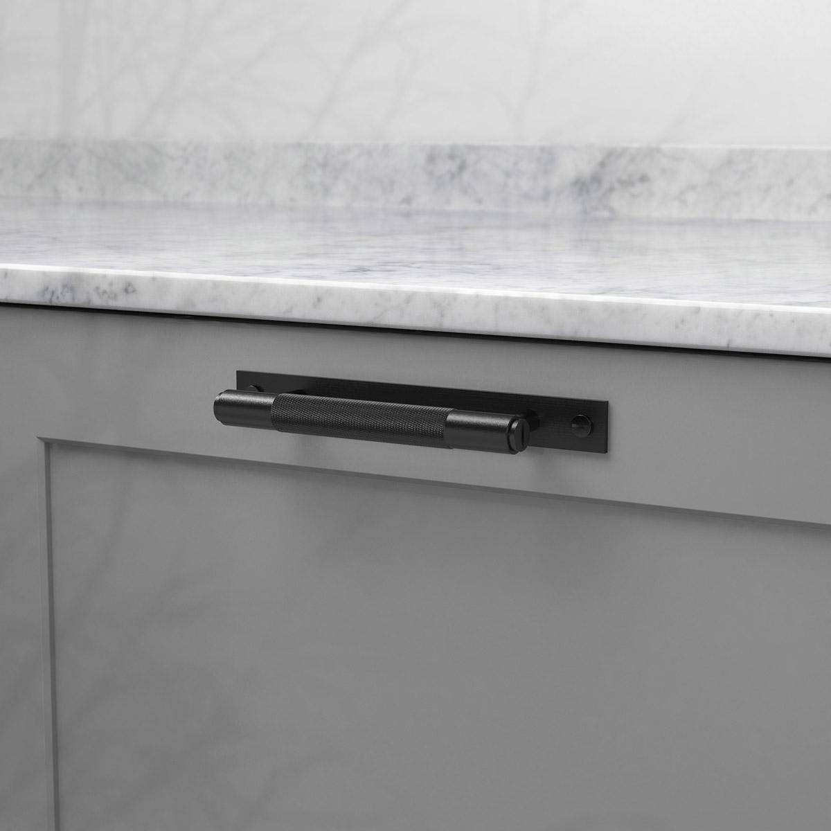 pull bar plate svart uk pb hp 160 bl a cc 125 mm ncs s 4500 n marmor carrara 2