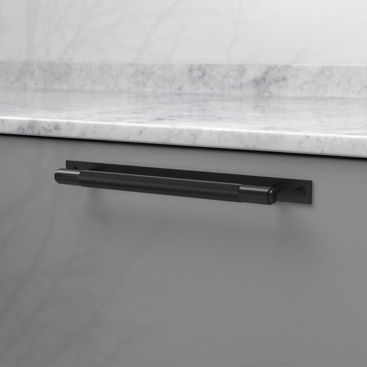 pull bar plate svart uk pb hp 260 bl a cc 225 mm ncs s 4500 n marmor carrara