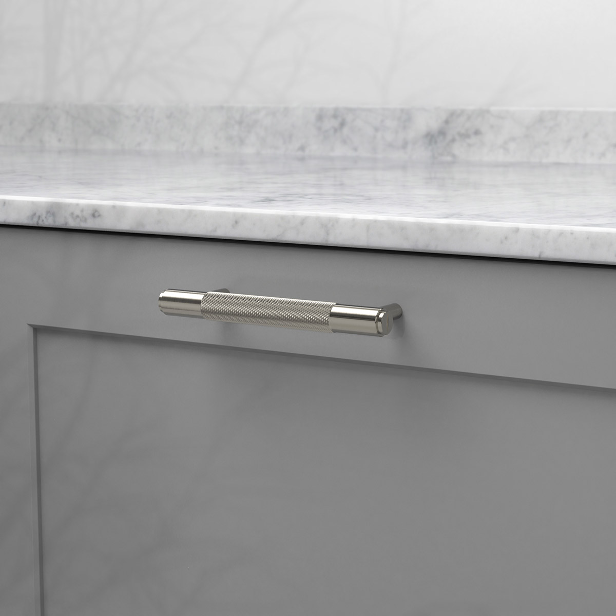 pull bar stål uk pb h 160 st a cc 125 mm ncs s 4500 n marmor carrara 2
