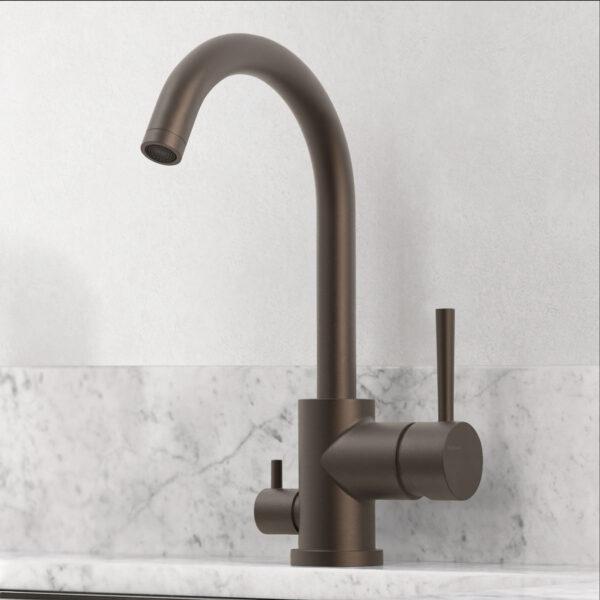 tapwell koksblandare evo184 bronze 9422584 marmor carrara
