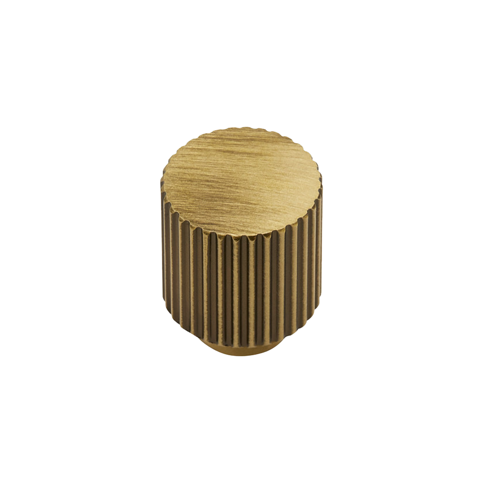 Knopp BeslagDesign Helix Stripe antik brons 309202 11 629638