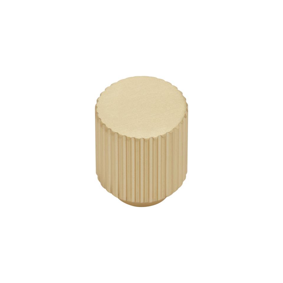 Knopp BeslagDesign Helix Stripe mässing 309203 11 629637