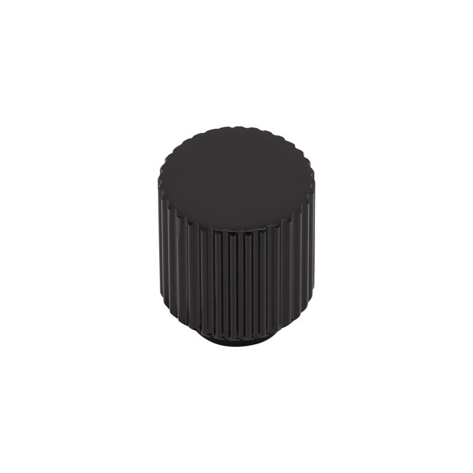 Knopp BeslagDesign Helix Stripe mattsvart 309201 11 629639