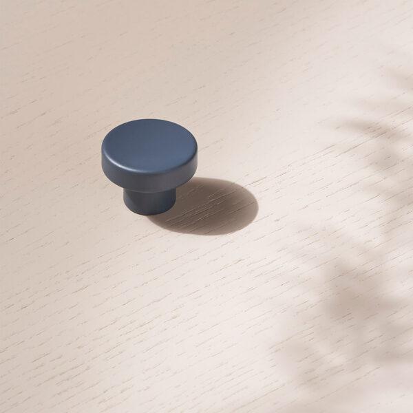 toniton knob circular blue uppd