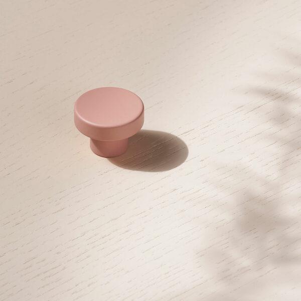 toniton knob circular peach uppd